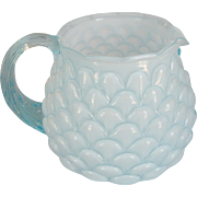 Fenton Blue Jacqueline Pitcher
