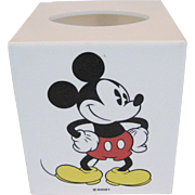 Disney Mickey Mouse Square Tissue Box