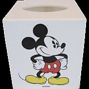 Disney Mickey Mouse Square Tissue Box