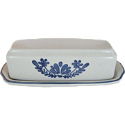 Pfaltzgraff Yorktown 1/4 Butter Dish