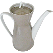 Rosenthal Crystalline Taupe Coffee Pot