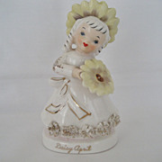 Daisy April Flower Girl Figurine