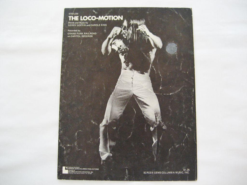 Grand Funk Railroad Sheet Music - The Loco-Motion - 1962