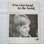Anne Murray Sheet Music - Put Your Hand In The Hand - 1970