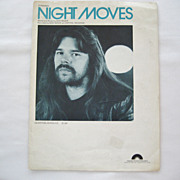 Bob Seger Sheet Music - Night Moves - 1976