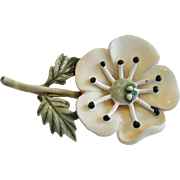 CFW Enamel Flower Pin