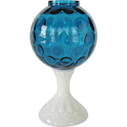 Fenton Blue Footed Ivy Ball