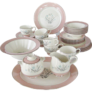35 Pc. Set of Homer Laughlin China - Brittany Shape
