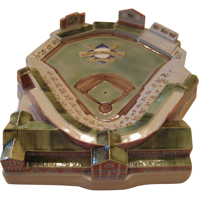 Louisville Stoneware Replica of Louisville Slugger Field
