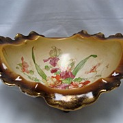 LaBelle China Floral Footed Console Bowl
