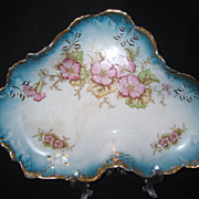 Oliver China Large Floral Dish