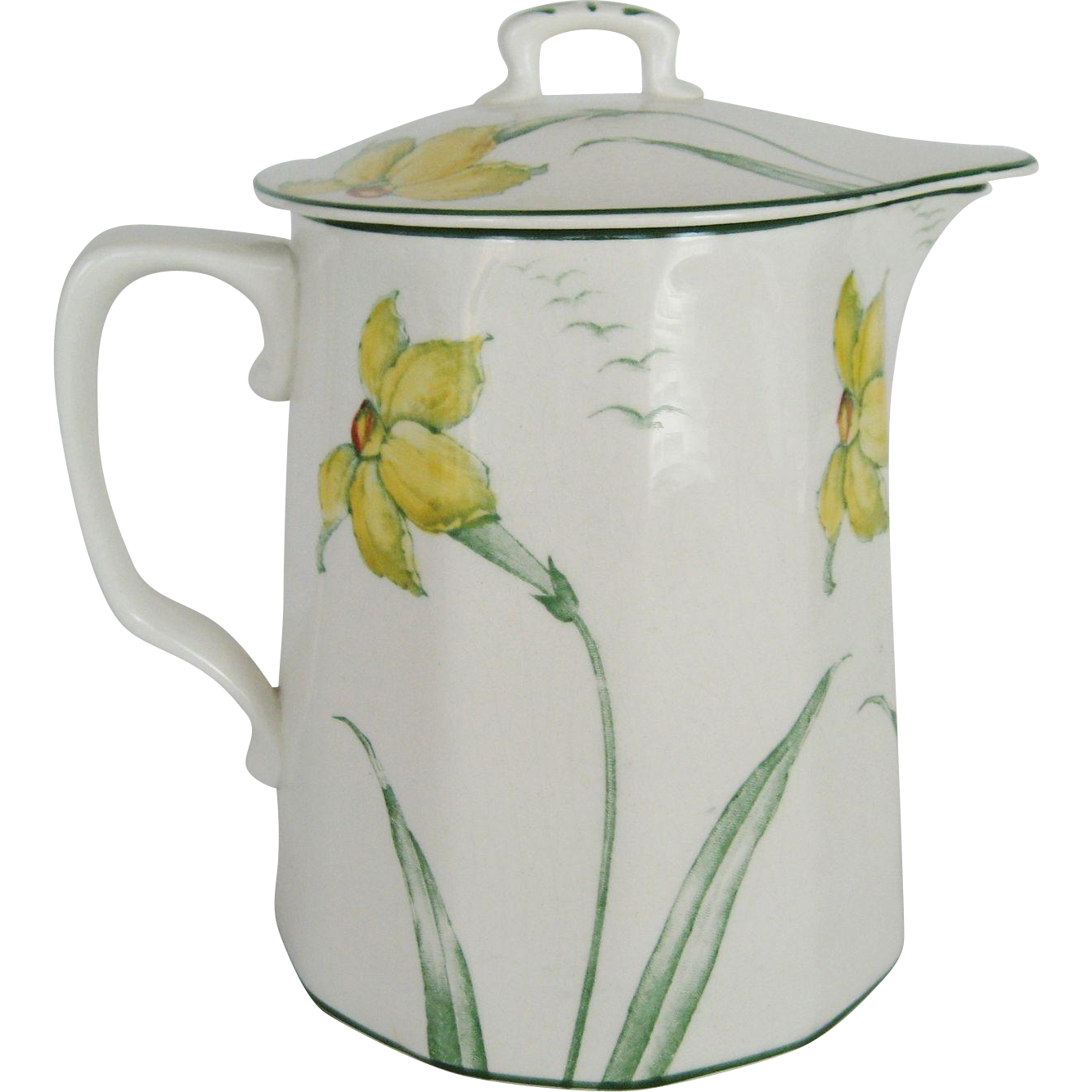 Knowles Taylor Knowles Milk Pitcher and Lid