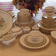 "Royal China ""Quban Royal"" Dinnerware - 58 Pcs. - FREE SHIPPING!!"