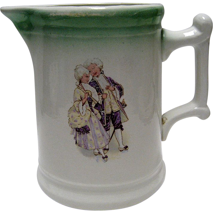 Sevres USA Hotel China Milk Pitcher