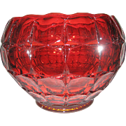 Indiana Glass Tiara Constellation Sunset Bowl