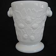 Westmoreland Milk Glass Blackberry Spooner