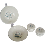 "4 Pcs. Alliance China Co. ""Regal"" Pattern"