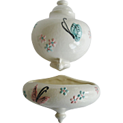 Hull Pottery Butterfly Lavabo