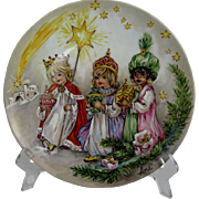 Goebel Lore Three Wee Kings Collector Plate - Original Box