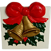 Holly and Christmas Bells Planter