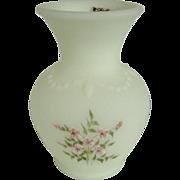 Fenton Small Pink Blossom Vase