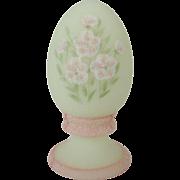 Fenton Pink Blossom Egg