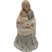 Homco Mother and Child Figurine