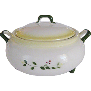 """Brock of California """"Farmhouse"""" Covered Serving Bowl"""