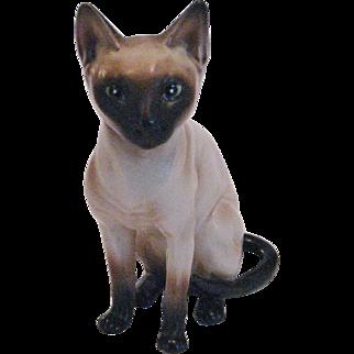 Lefton Siamese Cat Figurine