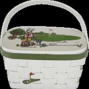 Caro-Nan Golf Themed Purse