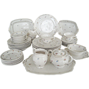 52 Pc. Set of Warwick China - AB514 - Made in U.S.A.