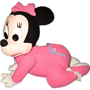 Crawling Minnie Mouse Doll