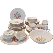 46 Pc. Set Cunningham & Pickett/Homer Laughlin Heirloom Dinnerware