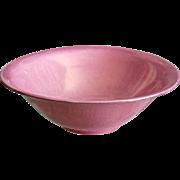 "Cowan Pottery 9"" Bowl #565-B, Pink Lustre, Ca. 1922"