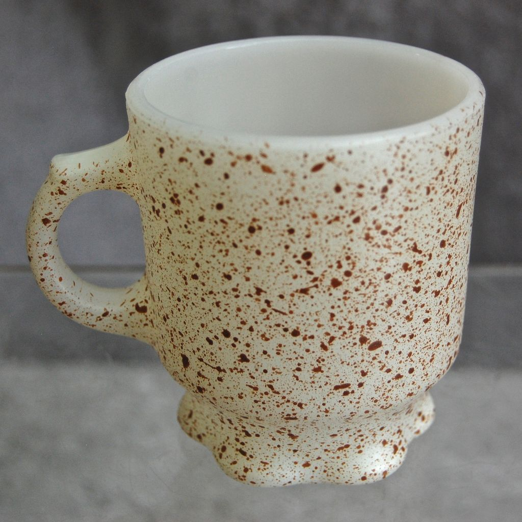 "Fire King ""Concord"" Speckled Mug"