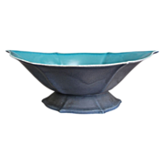 "Cowan Pottery Bowl #643, ""Dawn"" Glaze, Ca. 1925"