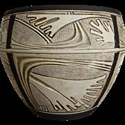 "Weller Pottery 9"" Claywood Jardiniere, Circa 1910"