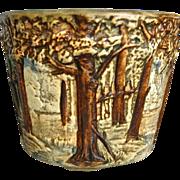 "Weller Pottery 5"" Forest Jardiniere, Circa 1921"
