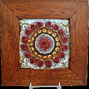 Villeroy & Boch Mettlach Framed Tile