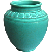 Rookwood Pottery Production Vase #6440, Turquoise Mat, 1934