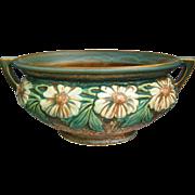 """Roseville Pottery Dahlrose Bowl #180-8"""", Circa 1928"""