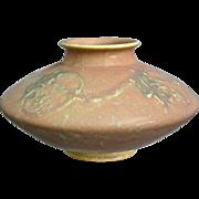 "Roseville Pottery Cremona Vase #351-4"", Pink, Circa 1928"