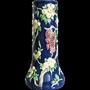 Eichwald Majolica Vase, Wisteria, Circa 1930 - Red Tag Sale Item