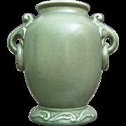 RumRill Pottery Vase #640, Green, Circa 1937
