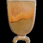 """Cowan Pottery Pillow Vase #797, """"October"""" Glaze, Circa 1928, #2"""
