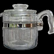 Pyrex Flameware 4 Cup Percolator