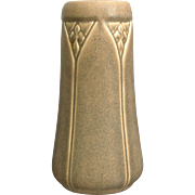 Rookwood Pottery Production Vase #2320, Taupe Mat, 1922