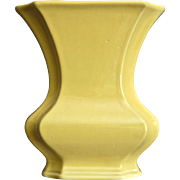 Cowan Pottery Vase #649-A, Daffodil Yellow, Ca. 1927
