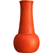 Cowan Pottery Vase #V-86, Oriental Red, Circa 1930