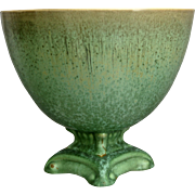 "Cowan Pottery ""Snifter"" Vase #808, ""Antique Green"" Glaze, C. 1928"